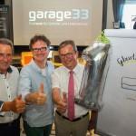 """Ein Jahr """"garage33"""""""