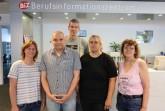"""Das BiZ-Team freut sich über zahlreiche Besucher der """"Donnerstags im BiZ"""" Vorträge. © Agentur für Arbeit Bielefeld"""