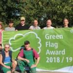 Grüne Flagge wird zum vierten Mal gehisst