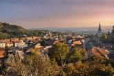 Blick auf die Weinstadt Mikulov. Foto: CzechTourism