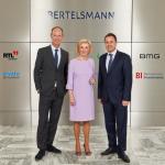 Luxemburgs Premierminister zu Gast bei Bertelsmann