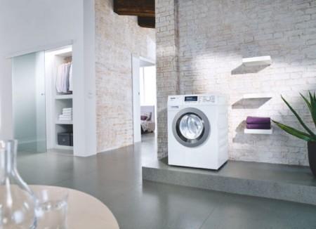 Testsieger im aktuellen Waschmaschinen-Test der Stiftung Warentest (StiWa): Die Miele WKF 311 WPS SpeedCare. Sie erreichte die Bestnote 1,6 und überzeugte besonders in den Prüfpunkten Handhabung und Umwelteigenschaften.