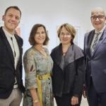 Ausstellung von Modehaus Hagemeyer und Pierre Cardin eröffnet