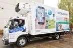 Als neuer Werbepartner zahlt Bertelsmann 4.125 Euro für eine knapp zwei Quadratmeter große Werbefläche auf dem Fahrzeug. Copyright: © Bertelsmann, Fotograf Steffen Krinke.