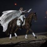 Gala-Abend des Pferdes wirft die Schatten voraus