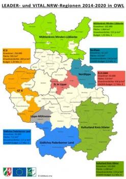 LEADER-Regionen_und_VITAL.NRW-Regionen_in_OWL.mxd