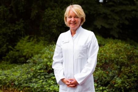 Dr. Wencke Ruhwedel, Chefärztin der Klinik für Frauenheilkunde und Geburtshilfe im Klinikum Gütersloh