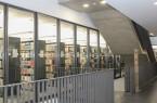 Blick auf die neuen zusätzlichen Räume der Uni-Bibliothek. © Universität Paderborn, Simon Ratmann