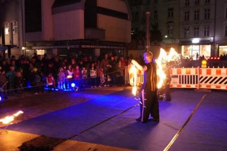 Feuershow mit Danse Inferna