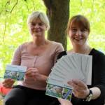 Austausch auf dem Erlebnisbauernhof und Kontakt via Postkarte
