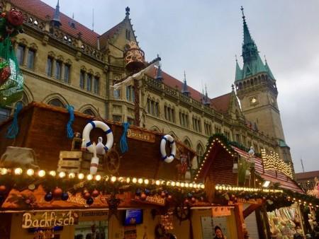Zauberhafte Weihnachtsstimmung in Braunschweig. Foto: Klaus Ottenberg