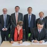 Chinesische Delegation zu Besuch an der Universität Paderborn