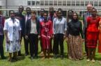 Gruppenfoto an der Universität Nairobi