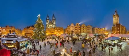 Weihnachtsmarkt in Prag. Foto: CzechTourism/Libor Svacek