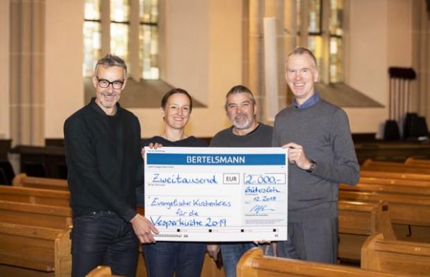 Ludger Osterkamp, Dr. Heike Thienenkamp, Michael Bartsch und Klaus Röttger. © Jan Voth