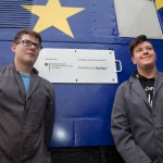 Landeseisenbahn Lippe präsentiert neugestalteten Jugendwaggon