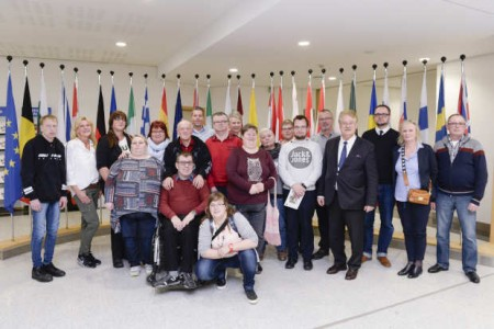 Visitors group Elmar BROK