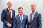 Rainer Müller wechselt im Januar zu den Stadtwerken Biele- feld. Auf ihn folgt Stefan Pöschel abgelöst, der dann gemein- sam mit dem technischen Geschäftsführer Thomas Pörtner die Geschäfte der Interargem leitet. (v.l.n.r.)