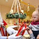 Nikolaus in der Kinderklinik