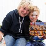 Löwenmama Susanne Saage verteilt wieder Weihnachtsgeschenke