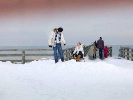 Winterstimmung im Ostseebad Boltenhagen (KV Boltenhagen/Patrick de Jourdan)