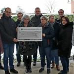 Vorzeitiges Weihnachtsgeschenk für die Lebenshilfe Paderborn