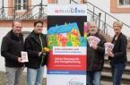 Informieren zur Aktion Thermographie plus Energieberatung: Carsten Heilmann und Oliver Erdmann (Energieberater), Bernd Schüre und Andrea Flötotto (Fachbereich Umweltschutz)