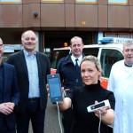 Notarztfahrzeuge der Stadt Gütersloh mit mobilem Ultraschallgerät ausgestattet