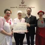 Lachen ist gesund – Klinik-Clows erhalten WÖHLER Spendengeschenk