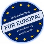 Festakt Europa-Erklärung Kreis Gütersloh