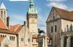 Für Städtereisende sowie für Braunschweigerinnen und Braunschweiger, die ihre Löwenstadt noch besser kennenlernen möchten, bietet das Stadtmarketing neu aufgelegte touristische Broschüren an. (Foto: Braunschweig Stadtmarketing GmbH/Frank Sperling)