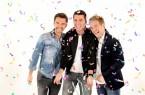 """Klubbb3 - Florian Silbereisen, Jan Smit, Christof /  Pressebilder zum Album """"Jetzt gehts richtig los!"""" /  Eisbach Studios / München / Montag, 12. Dezember 2016 /  Foto: BMC-Picture/Dominik_Beckmann für Electrola"""