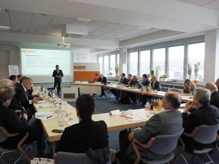 Pressekonferenz der EK/servicegroup