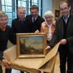 Neues Gemälde im Weserrenaissance-Museum Schloss Brake