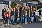 34 junge Menschen aus insgesamt 15 verschiedenen Bertelsmann-Unternehmen kamen Anfang dieser Woche in Gütersloh zusammen. Copyright: © Bertelsmann, Fotograf Steffen Krinke