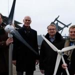 FH Bielefeld forscht mit Windkraftanlage an Technologien der Zukunft