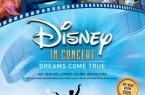 """Die berühmtesten Filmszenen mit den besten Disney-Songs aus achtzig Jahren Filmgeschichte: Die erfolgreiche """"Disney In Concert""""-Reihe gastiert erstmals auch in HalleWestfalen und präsentiert ihr neues Showprogramm """"Dreams Come True"""" am 14. März 2020 im GERRY WEBER STADION."""