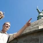 Hermann und Externsteine erfreuen sich wachsender Beliebtheit