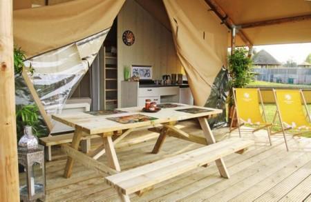 Lodge im Safariland Stukenbrock bei PaderbornFoto: © Susanna Stubb