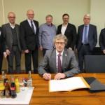 Bündnispartner unterzeichnen Memorandum