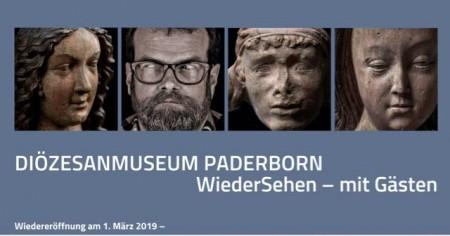 Banner zur Wiedereröffnung; ©Diözesanmuseum Paderborn