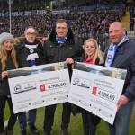 Arminia-Fans ermöglichen Spende über 9.817,20 Euro