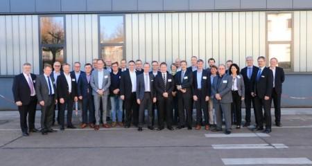 Der neu konstituierte IHK-Umweltausschuss tagte bei ZF Friedrichshafen AG in Bielefeld (Foto: ZF)