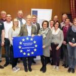 Jugendmusikkorps Avenwedde unterzeichnet die Europa-Erklärung