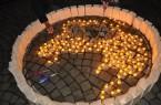 Feuershow, Musik und Kerzenschein auf dem Kleinen Domhof.Foto: Stadt Minden.