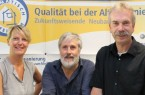 v.l.) Andrea Flötotto, Bernd Schüre und Bernd Ellger beraten in Sachen Gebäudesanierung und Fördermöglichkeiten.