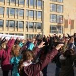 Flashmob gegen Rassismus