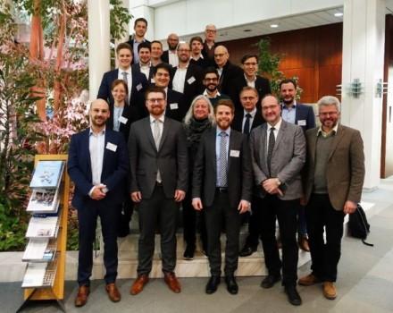 (Universität Paderborn): Das DizRuPt-Projektkonsortium beim Kickoff am 24. Januar 2019 im Heinz Nixdorf Institut der Universität Paderborn.