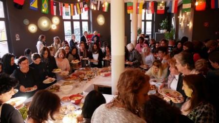 Internationales Frauenfrühstück in der Webereiam 5. März