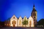 Die Anstrahlung der St.-Aegidius-Kirche sowie dreier weiterer Gotteshäuser und des  Domhofs werden am kommenden Samstag für eine Stunde abgeschaltet.